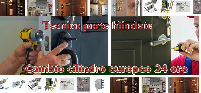 Sostituzione Cilindro Europeo Milano